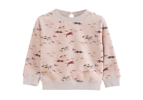Emile et Ida Sweatshirt Rose La Course