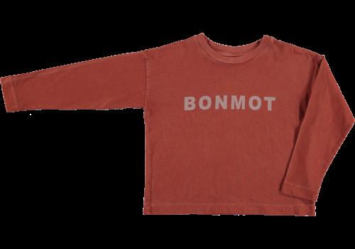 Bonmot organic relax long sleeved t-shirt bonmot, Tomato