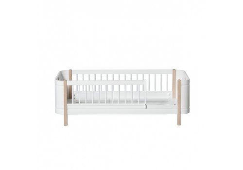 Oliver Furniture WOOD MINI+ JUNIOR BED, WHITE/OAK