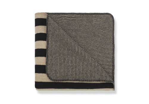 1 + More in the Family Blanket Innsbruck Black/Beige