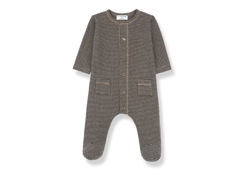 1 + More in the Family Jumpsuit Mons Black/Beige