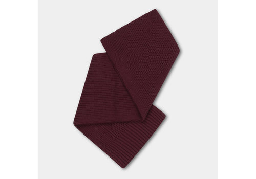 Repose AMS Knitted Scarf Small Rosewood Red