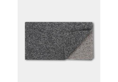 Repose AMS Knitted Scarf Medium Mixed Greys