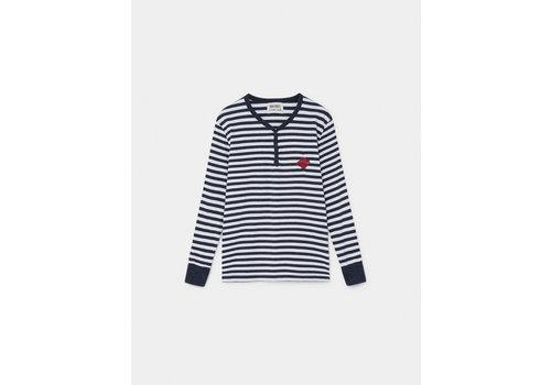 BOBO CHOSES Saturn Snap Buttons T-Shirt Grey Vigoré