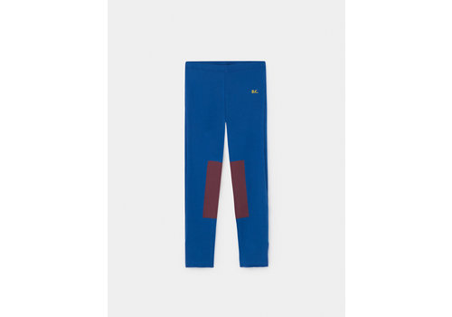 BOBO CHOSES Red Patch Leggings nautical Blue