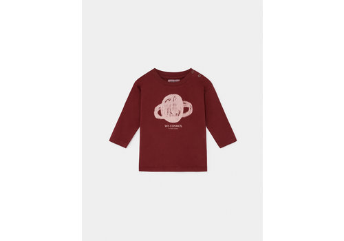 BOBO CHOSES Saturn Long Sleeve T-shirt Sun Dried Tomato