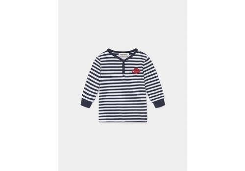 BOBO CHOSES Saturn Buttons T-Shirt Grey Vigoré