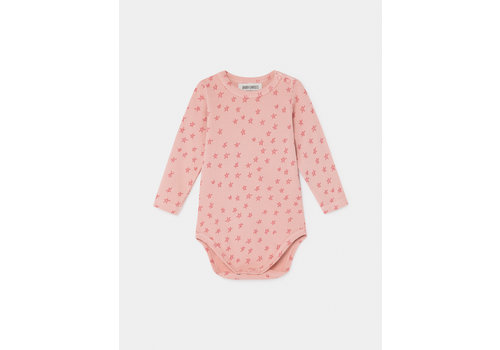BOBO CHOSES All Over Stars Long Sleeve Body Mellow Rose