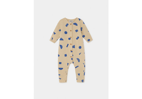 BOBO CHOSES All Over Stuff Jumpsuit Pebble