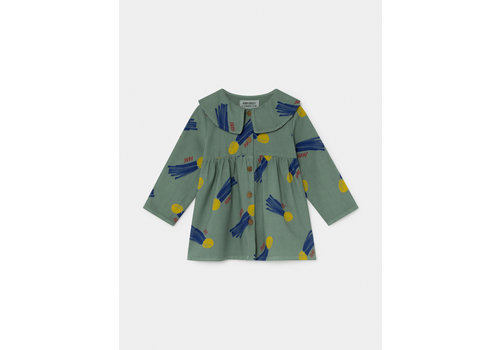BOBO CHOSES All Over A Star Called Home Princess Dress Peppergreen