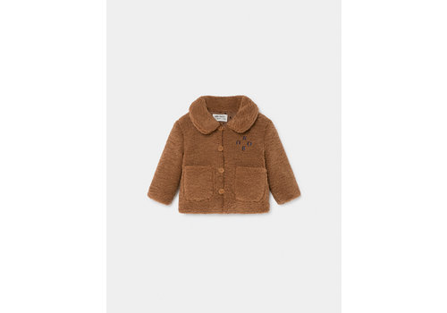 BOBO CHOSES Bobo Sheepskin Jacket Sudan Brown