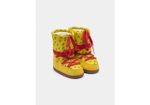 BOBO CHOSES Yellow Cosmo Boots Dantelion