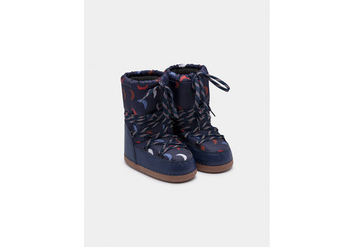 BOBO CHOSES Blue Cosmo Boots Estate Blue