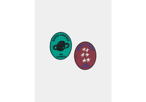 BOBO CHOSES We Cosmos Pack of 2 Patch NONE