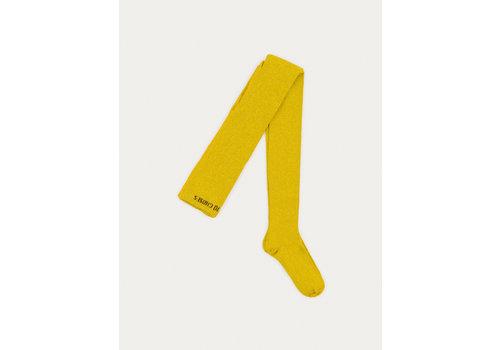 BOBO CHOSES Yellow Lurex Tights Dantelion