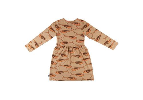 CarlijnQ Gold fish - dress