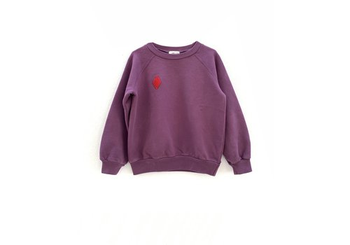 Long Live the Queen raglan sweater 341 hortensia