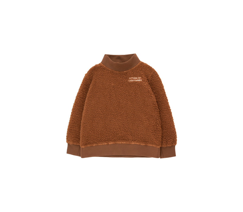Citizen Of Luckywood Sweatshirt Dark Brown/Light Cream