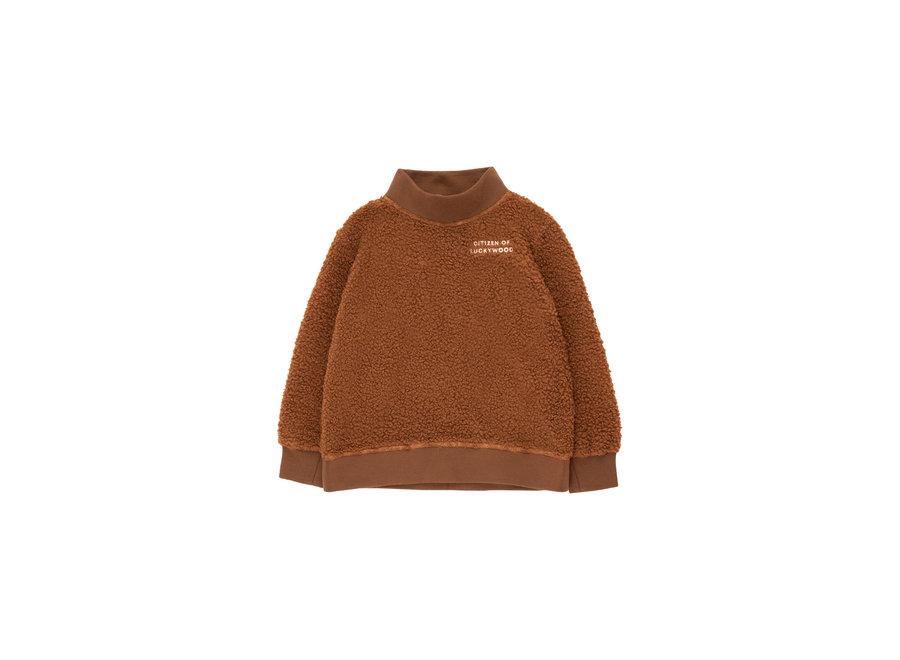 Citizen Of Luckywood Sweatshirt Dark Brown/Light Cream