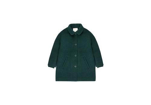 Tiny Cottons Woolen Coat Bottle Green