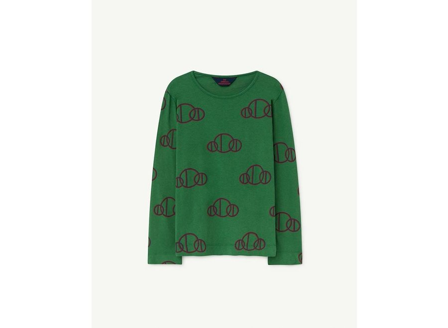 Eel Kids T-Shirt Green Circles