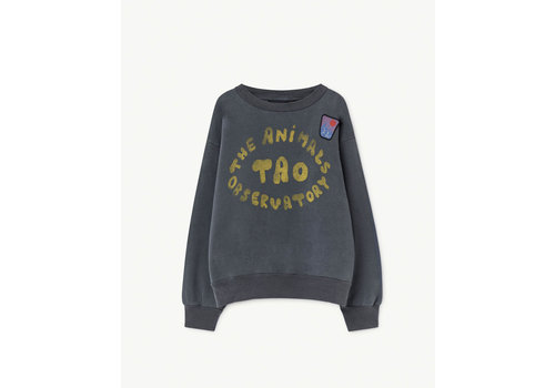 The Animals Observatory Bear Kids Sweatshirt Blue The Animals