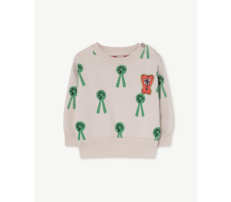 Bear Babies Sweatshirt Mauve Animals
