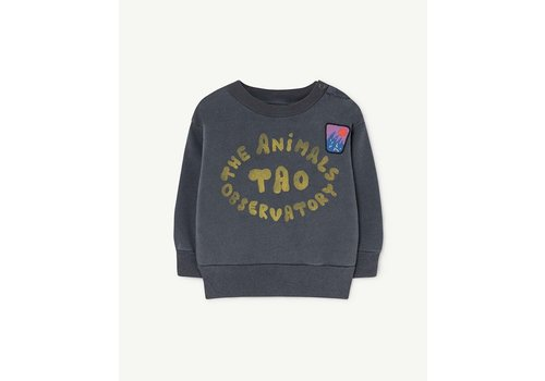 The Animals Observatory Bear Babies Sweatshirt Blue The Animals