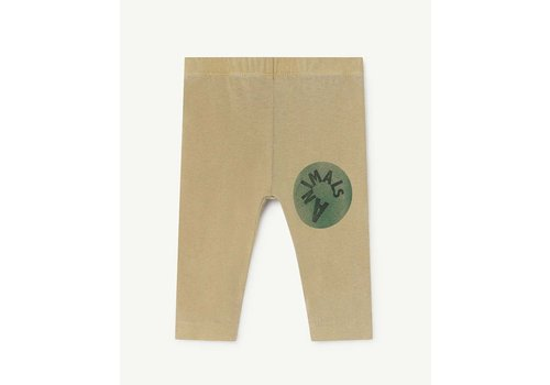 The Animals Observatory Penguin Babies Leggins Khaki Animals