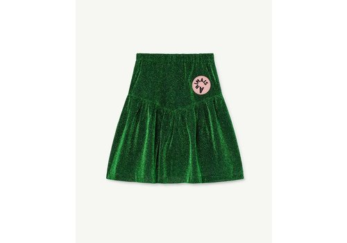 The Animals Observatory Turkey Kids Skirt Electric Green