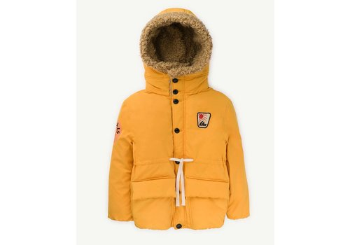 The Animals Observatory Calf Kids Jacket Yellow Animals