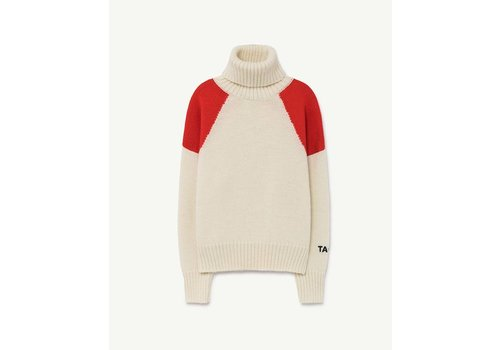 The Animals Observatory Condor Kids Sweater Red Tao
