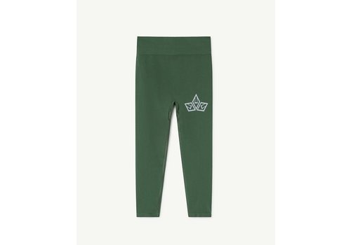 The Animals Observatory Alligator Kids Leggings Green