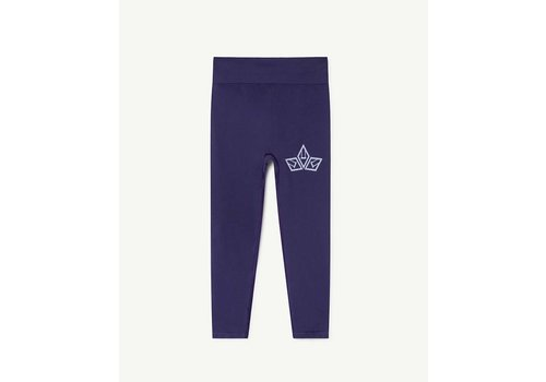 The Animals Observatory Alligator Kids Leggings Blue
