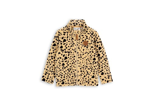Mini Rodini Fleece jacket Beige