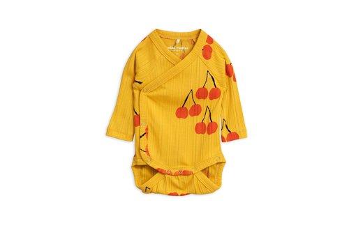 Mini Rodini Cherry wrap body Yellow