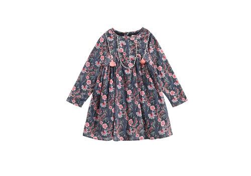 Louise Misha Dress Roulotta Storm Flowers