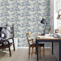 Wallpaper Raphaël //  Light Blue