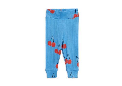 Mini Rodini Cherry nb leggings Blue