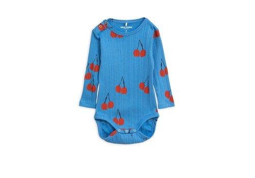 Mini Rodini Cherry ls body Blue