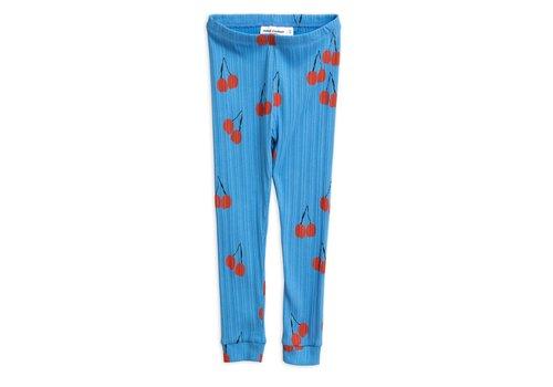 Mini Rodini Cherry leggings Blue