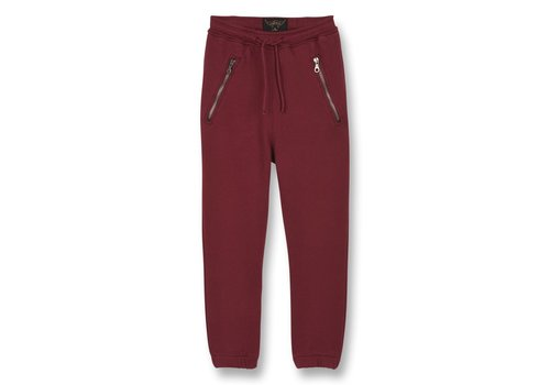 Finger in the nose CONOR Burgundy - Unisex Knitted Jogging Pants
