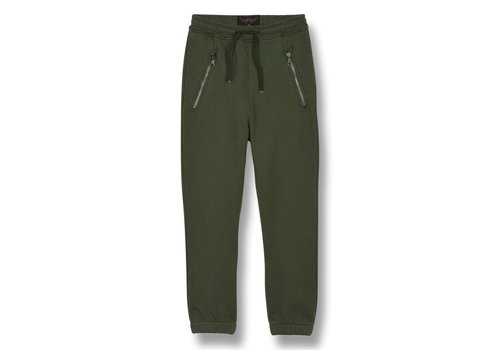Finger in the nose CONOR Khaki - Unisex Knitted Jogging Pants