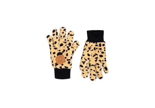 Mini Rodini Fleece gloves Black