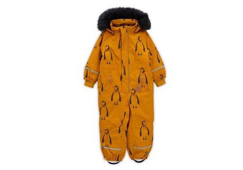 Mini Rodini Kebnekaise penguin overall Brown
