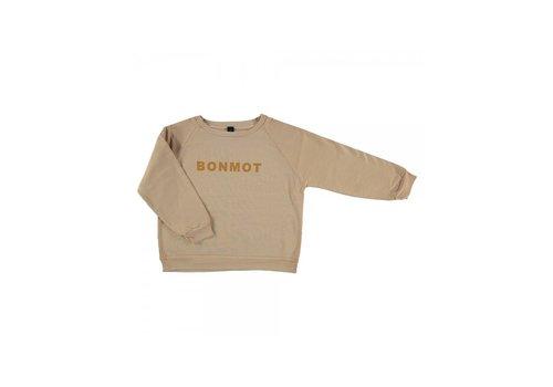 Bonmot organic ranglan sweatshirt bonmot,  Maple_sugar