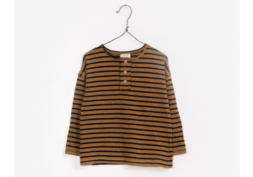 Play up Striped Jersey T-shirt R232C