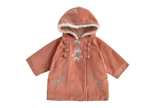 Louise Misha Coat Zoila Terracotta