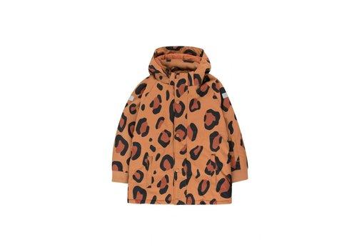 Tiny Cottons Animal Print Snow Jacket Brown/Dark Brown