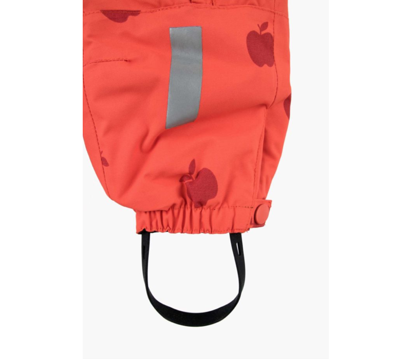 Apples Snow One-Piece Red/Burgundy